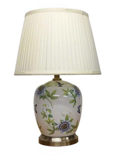 Wild Flower Porcelain Table Lamp
