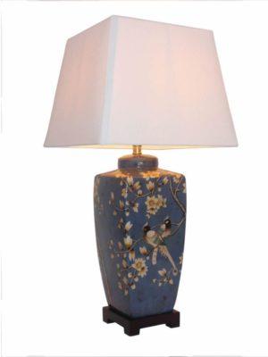 Baoshan Chinese Porcelain Table Lamp