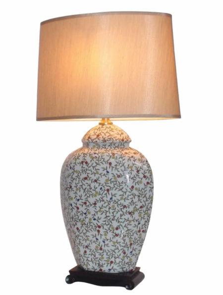 Baicheng Chinese Porcelain Table Lamp