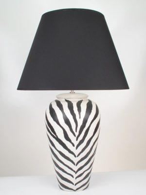 Black & White Lamp Large