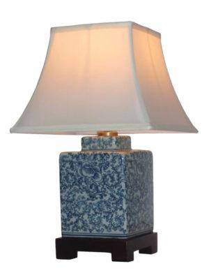 Aral Chinese Porcelain Bedside Lamp