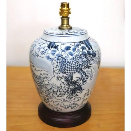 The Shanzi Porcelain Table Lamp